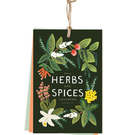 Rifle Paper Co. - 2014 Herbs and Spices Calendar