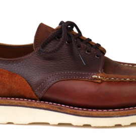 Russell Moccasin - Multi-Combo Country Oxford Brown