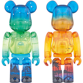 MEDICOM TOY - BE@RBRICK GREAT SLAVE LAKE/DIAMOND HEAD