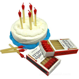 Matchstick Birthday Candles