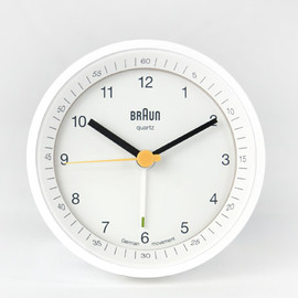 Braun - Braun Alarm Clock Lighted Dial - white