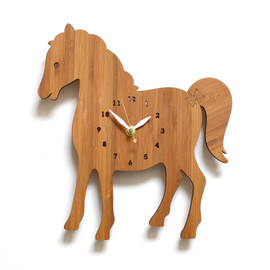 DECOYLAB - HORSE Animal Clock