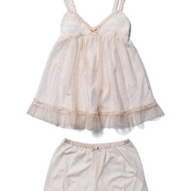 Tank in rib cotton with tutu
