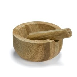 Jamie Oliver - Wood pestle and mortar