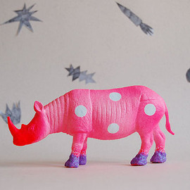 polka dot rhino//the strange planet
