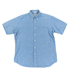 INDIVIDUALIZED SHIRTS - S/S BD Shirts Classic Fit Heritage Chambray-Blue