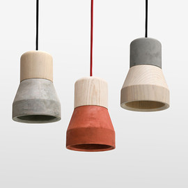Thinkk Studio - CementWood Lamp