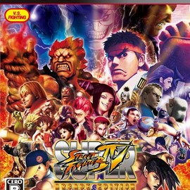 CAPCOM -  SUPER STREET FIGHTER IV ARCADE EDITION