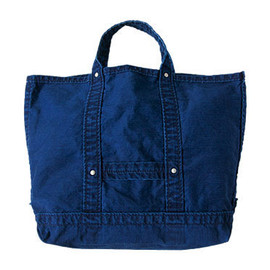 DAILY WARDROBE INDUSTRY - DAILY WARDROBE INDUSTRY DAILY TOOLS TOTE MEDIUM INDIGO