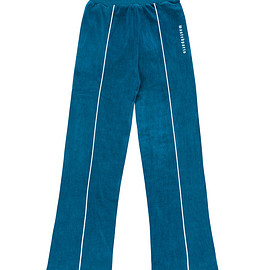 wasted - WM Velour Pants River Blue