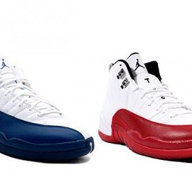 NIKE - NIKE AIR JORDAN 12 RETRO FRENCH BLUE & VARSITY RED