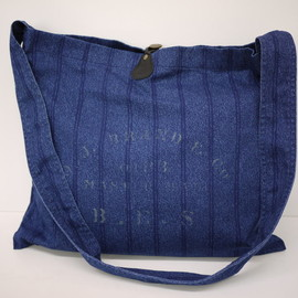 OLD JOE & Co. - COTTON PICK SACK (INDIGO STRIPE)