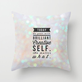 Society6 - Today Throw Pillow