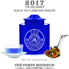 MARIAGE FRERES - New blue tea fo the Thé des Signes collection : Flamboyant Rooster