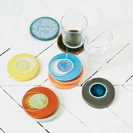 Crackled Coasters