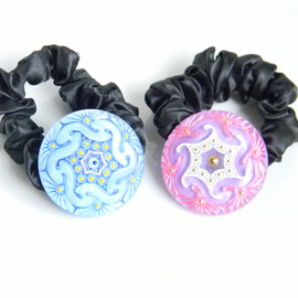Ostara - Hair Ties and Bracelets/ Pink