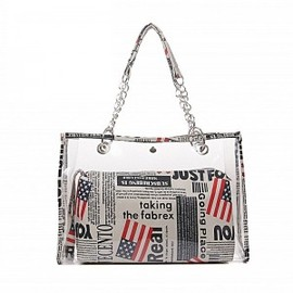 julyjoy - Transparent Beach Tote Bag S