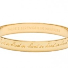 "kate spade NEW YORK - ""Hand in Hand"" Bangle"