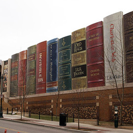 The Kansas City Public Library - Library Garage Art
