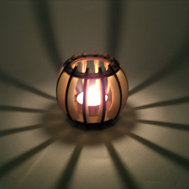 InvenioCrafts - Plywood Candle Shade