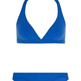 Eres - CO2 halterneck triangle bikini top
