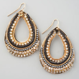 Panacea - Panacea Crystal Teardrop Earrings