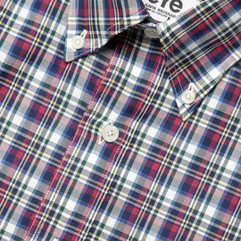 JUNYA WATANABE COMME des GARCONS MAN - Plaid Shirt collaborating with Brooks Brothers