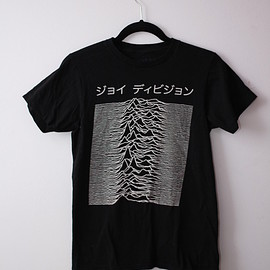 "Worn By - Joy Division Japanese ""Unkown Pleasures"" T"
