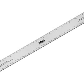 Krink - Stainless Steel Ruler - Silver