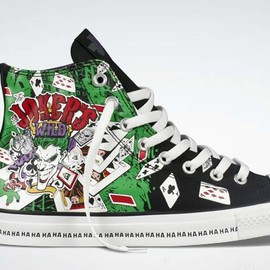 CONVERSE - All Star DC Comics- The Joker black/green