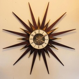 Elgin - Sunburst Clock