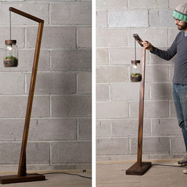 Terrarium Floor Lamp