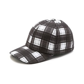 Carven - Carven Twill Check Cap