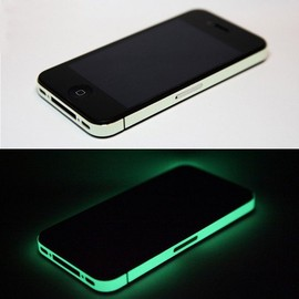X2 - iPhone 4 iDecal Case - Glow in the Dark version