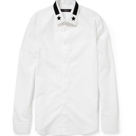 GIVENCHY - Embroidered Cotton Shirt