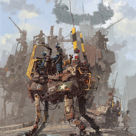 IAN MCQUE - Big Dog, Little Dog