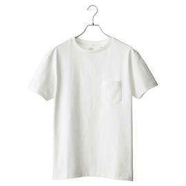 ANATOMICA - Pocket Tee White