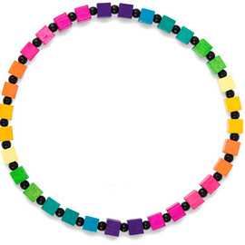 Carolyn Forsman - Color Block Jewerly Necklace