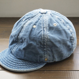 "DECHO - BALL CAP -WORLD WORKERS-""LIGHT INDIGO"""