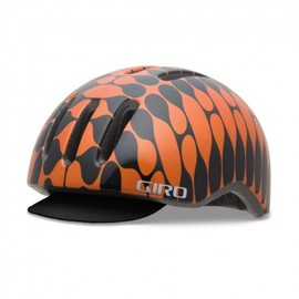 GIRO - Reverb :Metalic Orange/Black House Industries