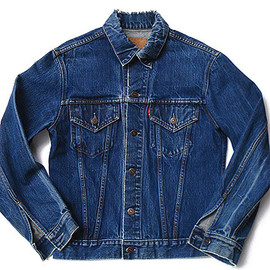 TRUCKER JACKET PATCHWORK INDIGO