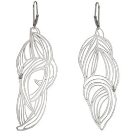 Melissa Borrell - Pop-Out Leaf Earrings