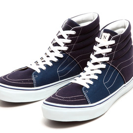 VANS, BEAUTY & YOUTH, NVy by F.A.T - VANS×BEAUTY & YOUTH×NVy by F.A.T SK8-Hi