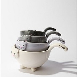 urban outfitters - Cat Measuring Cup Set