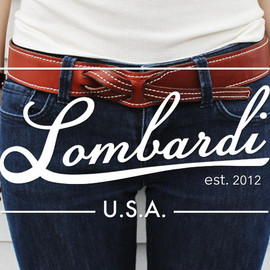 LOMBARDI LEATHER - buckle-less leather belts
