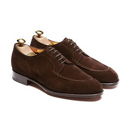 EDWARD GREEN - DOVER UNLINED 32 / MINK SUEDE