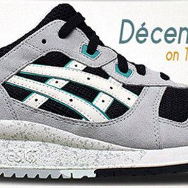 asics - Gel Lyte III - Grey/Black/White/Teal?