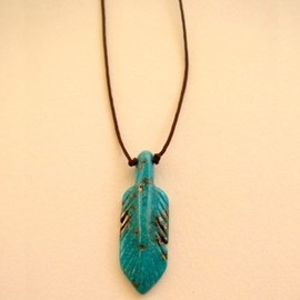 Bronwen - Angeni Feather Necklace