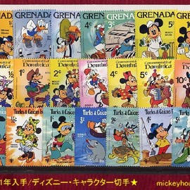 STAMP - MICKEY MOUSE 1979s