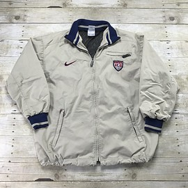 NIKE - Nike USA Soccer National Team Windbreaker Jacket Mens Size Medium